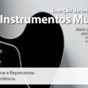 Call export e sua opinião sobre a isenção de impostos de importação para instrumentos musicais. Foto: Apolo Photographer no Unsplash.