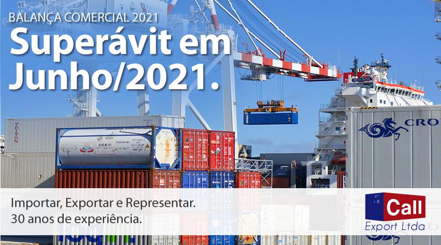 Call Export faz um resumo da balança comercial de Junho de 2021. Imagem: Frans Van Heerden no Pexels.
