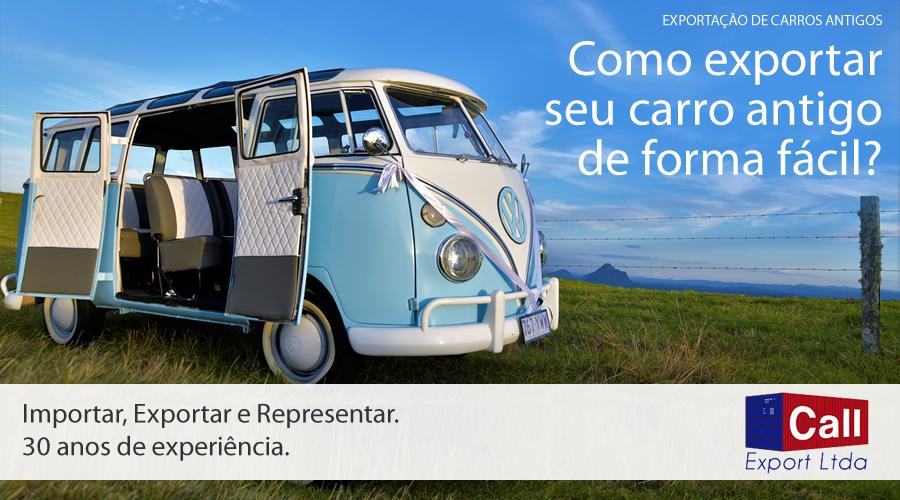 Call Export fala sobre como exportar carros antigos. Imagem: Sports Brand no Unsplash.