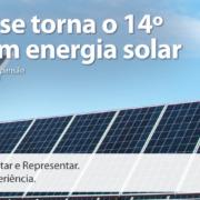 CAll Export fala sobre a oportunidade de energia solar agora que o Brasil é o 14 país em capacidade. energética na modalidade.