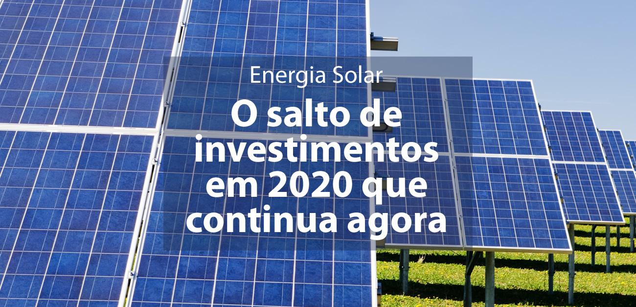CallExport analisa o salto de investimentos em energia solar no Brasil. Foto por Zbynek Burival no Unsplash.