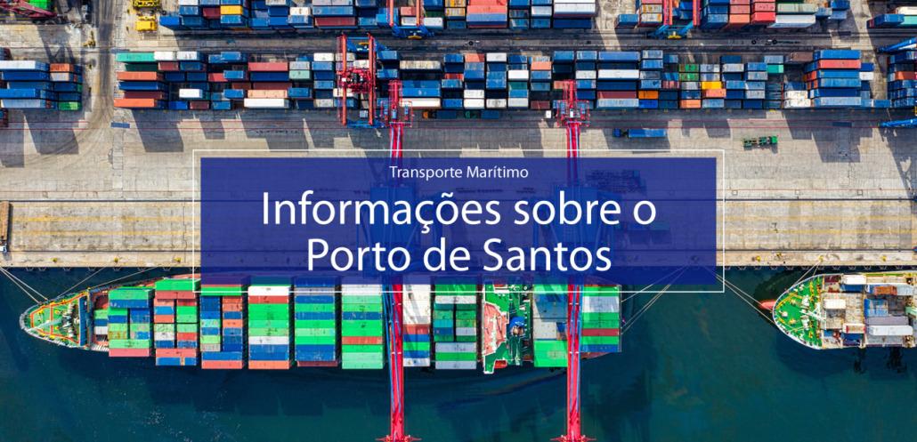 Informações sobre o porto de Santos. Foto por Tom Fisk no Pexels.