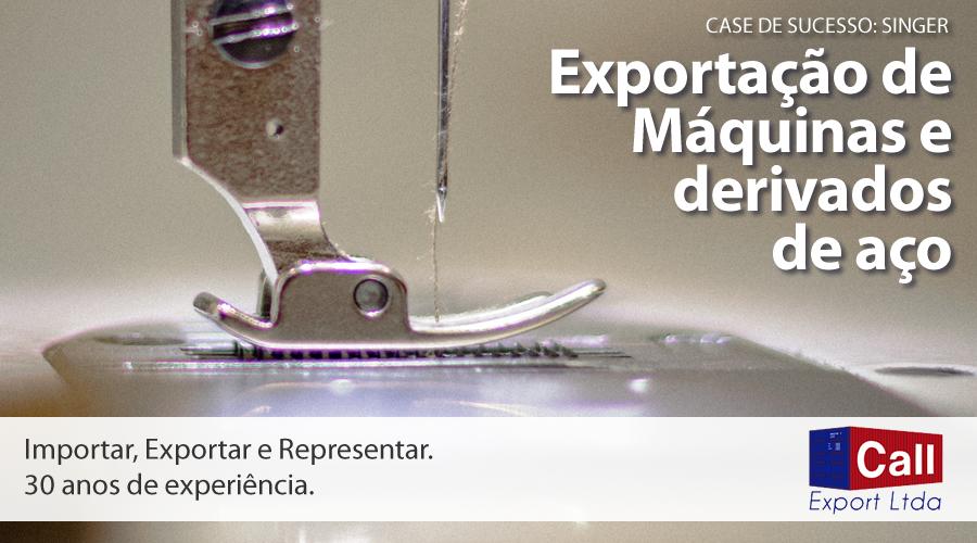 Call Export fala sobre o case de sucesso do seu cliente Singer, com a exportação de máquinas e agulhas para a América Latina. Imagem: Vlady Nykulyak no Unsplash.