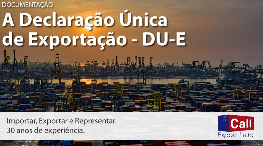 Call Export explica o uso da DU-E, a Declaração Única de Exportação. Imagem: Tom Fisk no Pexels.